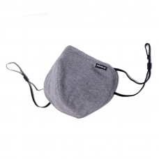 IShield tekFABRIK  Small Square Mask || Space Grey Color