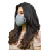 IShield tekFABRIK  Small Round Mask || Space Grey Color